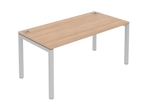 Fraction Single Starter Bench Desk 1600x800x725mm