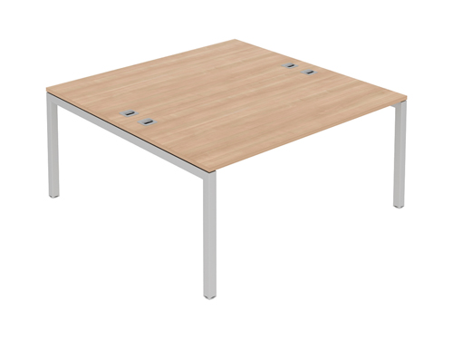 Rectangular Desks Fraction Double Bench 1600x1200x725mm