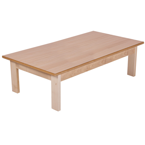 Tock Rectangular Coffee Table 600x330x600mm Beech 415/BCH Each
