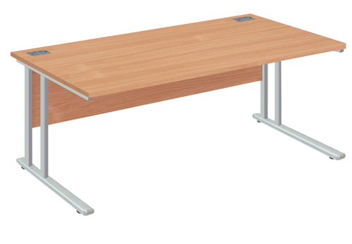 Rectangular Desk 1400x800x730mm White