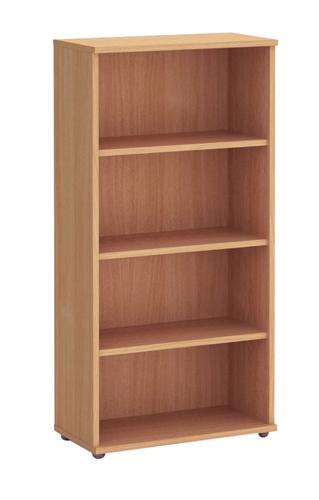 Fraction Plus Bookcase 1600mm 3 Shelves Each