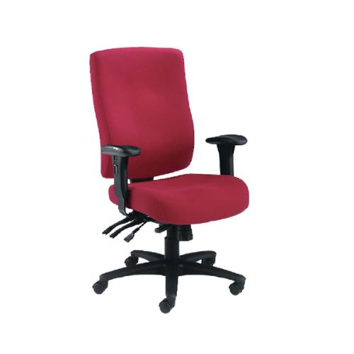 Desk Chairs Marathon Heavy Duty Chair Ruby
