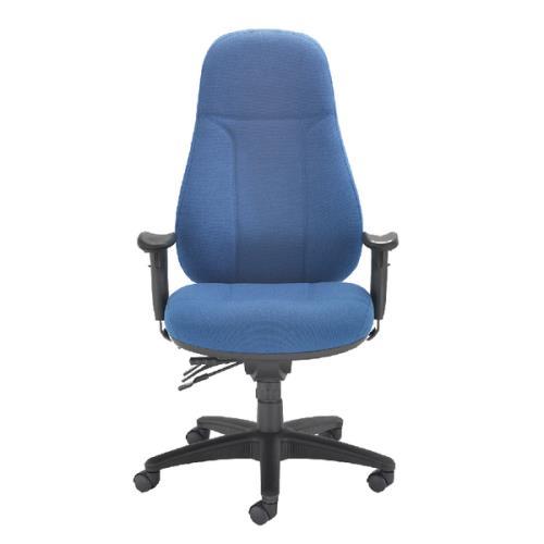 Cheetah Heavy Duty Task Chair Blue
