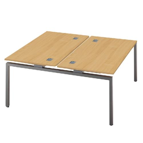 Fraction Double Bench 1200x1200x725mm Nova Oak