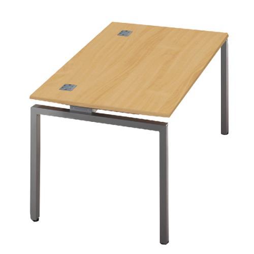Fraction Single Starter Bench Desk 1400x800x725mm Nova Oak