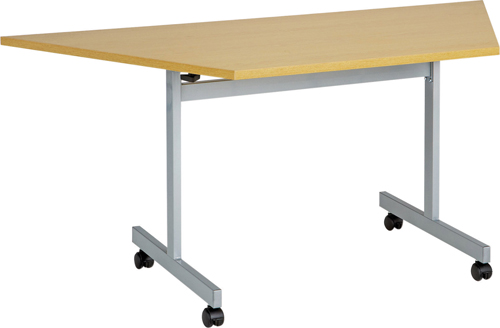 One Eighty Trapezoidal Flip Top Meeting Table