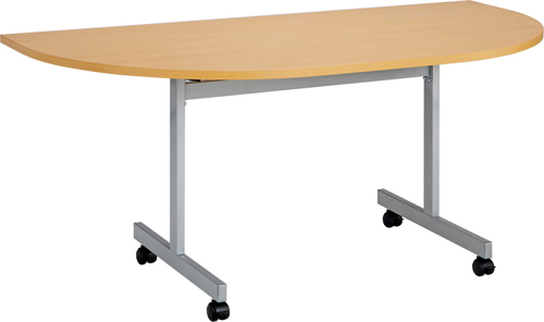 One Eighty D-End Flip Top Meeting Table