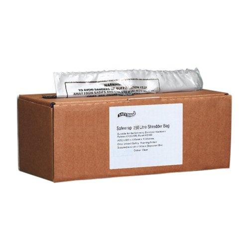 Safewrap 250 Litre Shredder Bag 590x1150x1200mm Box 50 Ref 0474
