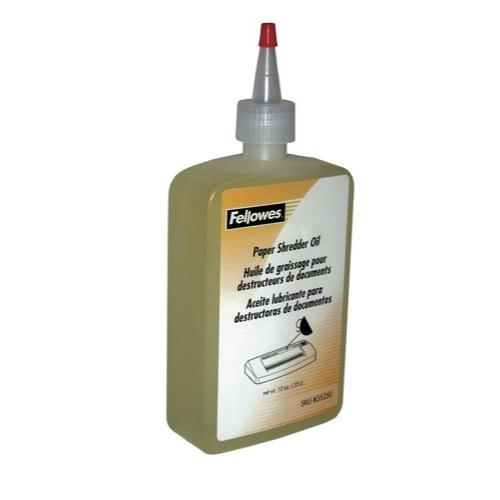 Fellowes Shredder Oil for all Cross-Cut Shredders 350ml Bottle Ref 35250 Each