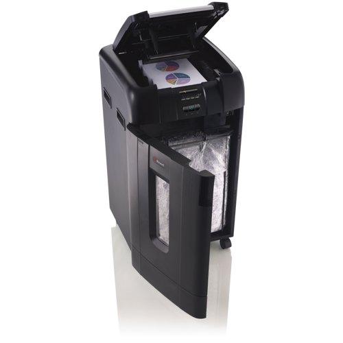 Rexel Auto+ 750M Micro Cut Shredder Black 2104750