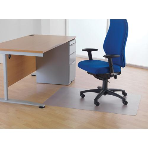 Cleartex Chairmat For Hard Floors 1200x1500mm Clear