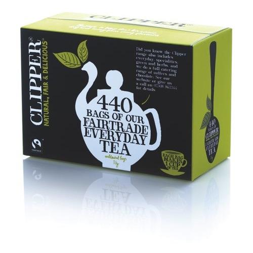 Clipper Fairtrade Organic Tea Bags Pack of 440