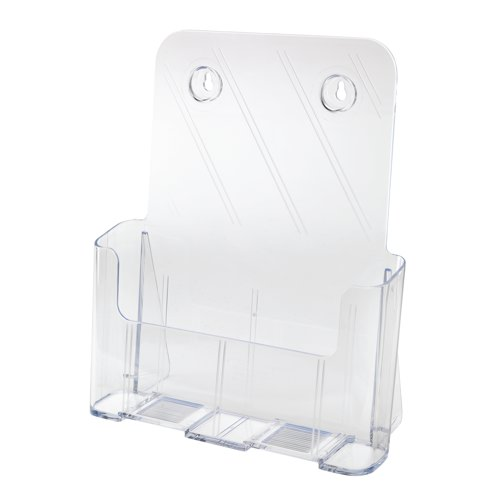 Deflecto Clear Free Standing A4 Literature Holder
