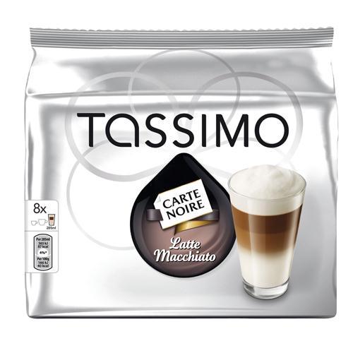Tassimo Carte Noire Latte Macchiato Coffee Capsules Pack of 40