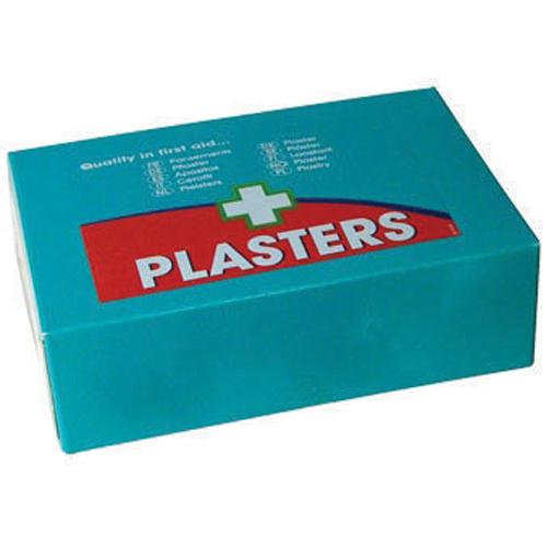 Astroplast Blue Detectable Plasters Assorted Pk 150 1214037