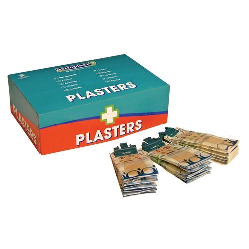Astroplast Wash proof Pilfer proof Plasters Pk 150 1204010