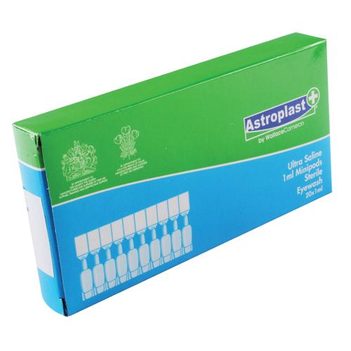 Astroplast Saline Eye Wash Pods 5ml (Pk 10) 2404096