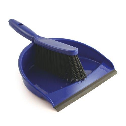 Blue Dustpan and Soft Brush Set REF 8011/B