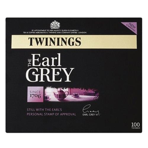 Twinings Earl Grey Tea Bags Pack of 100