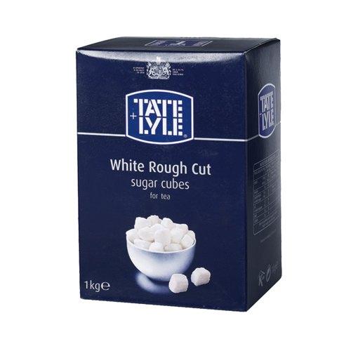 Tate & Lyle White Rough Cut Sugar Cubes 1kg