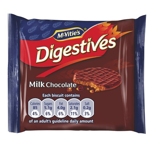 McVitie's Chocolate Digestive Twin Pack Biscuits Pack of 48