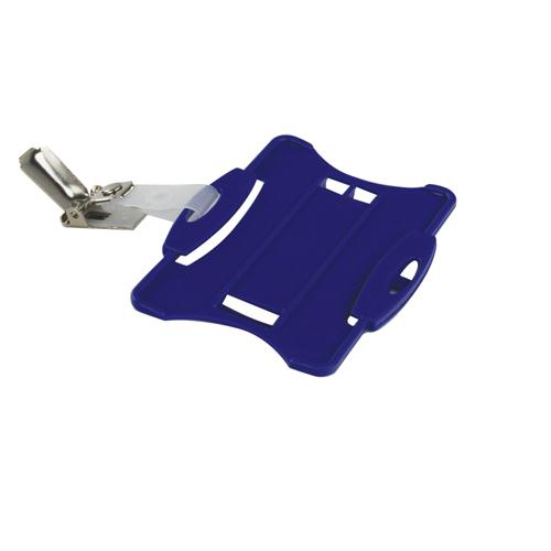Durable Security Pass Holder Pk 25 Blue 8118/06