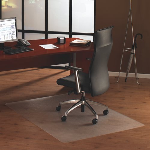 Cleartex Ultimat Chair Mat for Low Pile Carpet 1190x890mm Ref FC118923ER