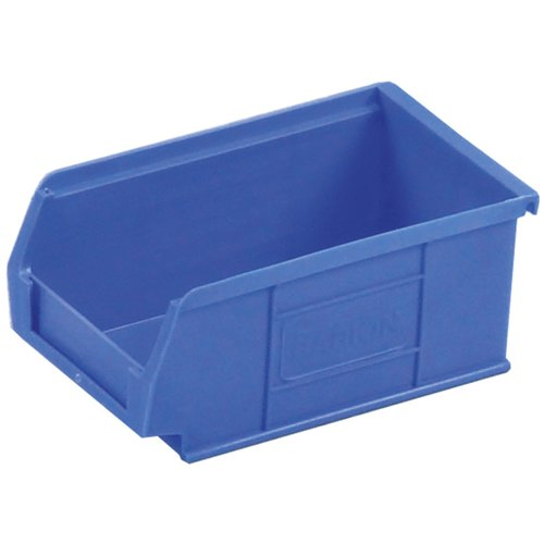 Topstore TC1 Semi-Open Fronted Containers 1.27L Blue Pack of 20