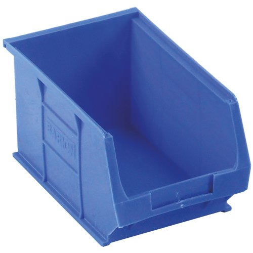 Topstore TC3 Semi-Open Fronted Containers 4.6L Blue