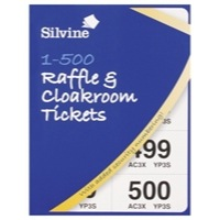 Robinson Young Raffle Tickets 1-1000 Assorted Colours 00277