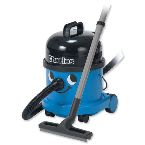 Charles Numatic Wet/Dry Vacuum Cleaner Ref CVC370BLUE Each