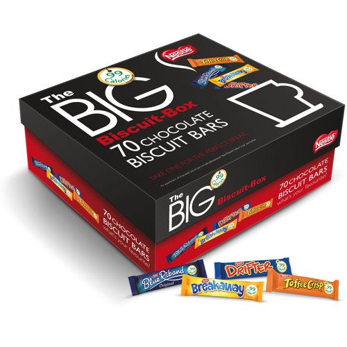 Nestlé Assorted The Big Biscuit Box Pack of 70 Biscuits