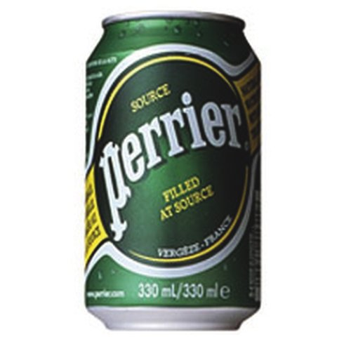 Perrier Sparkling Water 330ml Pack of 24 Cans