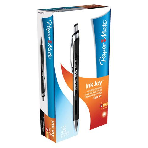 Paper Mate Inkjoy 550 Ball Point Pen Black