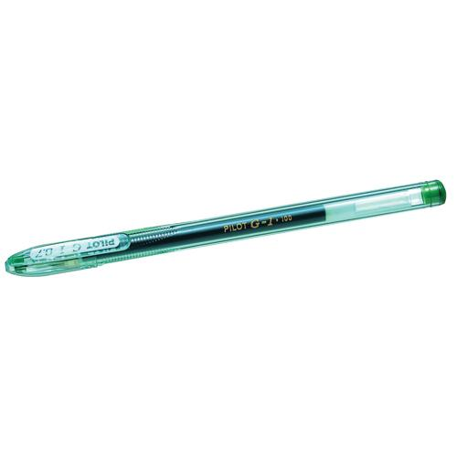 Pilot G107 Gel Pen Green 001101204
