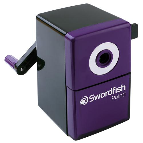 Swordfish Pointi Mechanical Sharpener Purple / Black