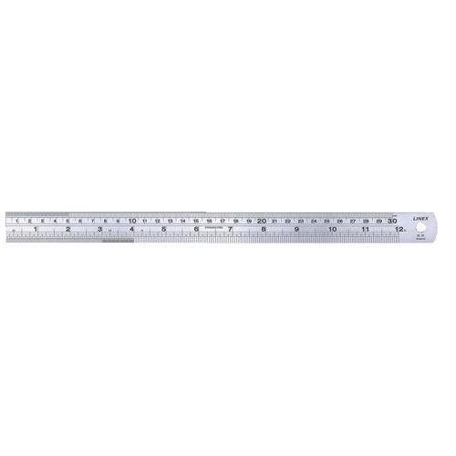 Linex Stainless Steel 30cm Ruler