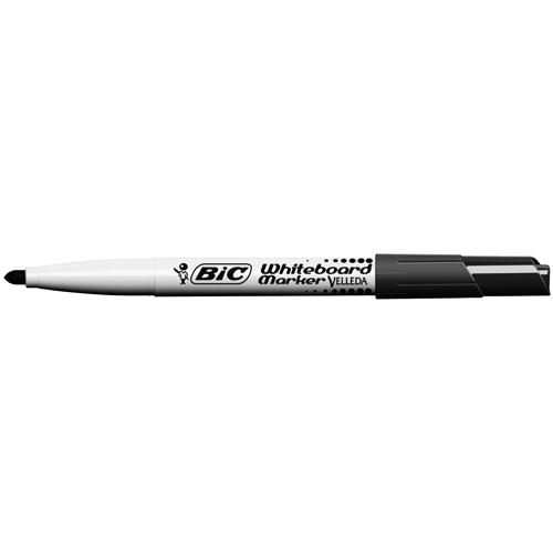 Bic Velleda Whiteboard Marker 1741 Bullet Tip Black 1199174109