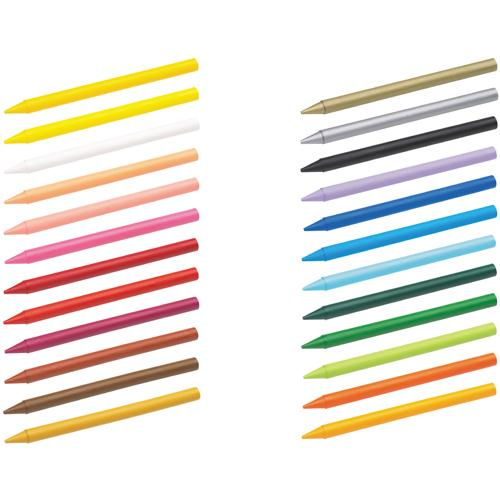 Bic Plastidecor Crayons Pk 24 829772