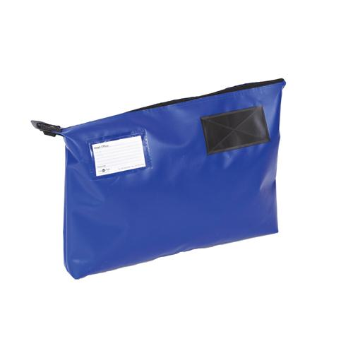 Go Secure Mail Pouch Blue 470x336x76mm