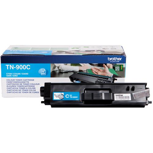 Brother Super High Yield Toner Cartridge TN-900 Cyan Pack of 1 TN900C