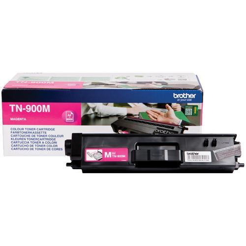 Brother Super High Yield Toner Cartridge TN-900 Magenta Pack of 1 TN900M
