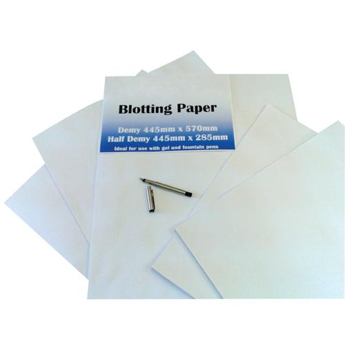 Blotting Paper White Demy 445x570mm Pk 50