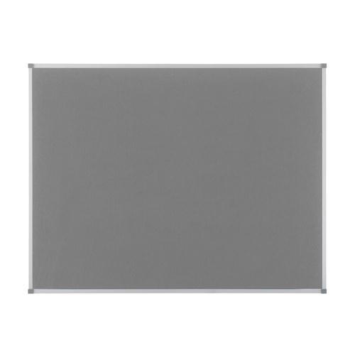Nobo Elipse Notice Board Felt 900x600mm Grey 1900911