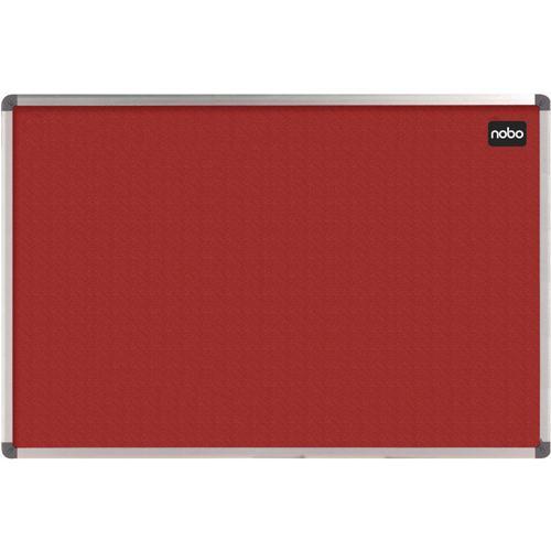 Nobo Elipse Notice Board Felt 1200x900mm Red 1902260