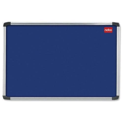 Nobo Notice Board 1500x1000mm Aluminium Frame Blue 30234148