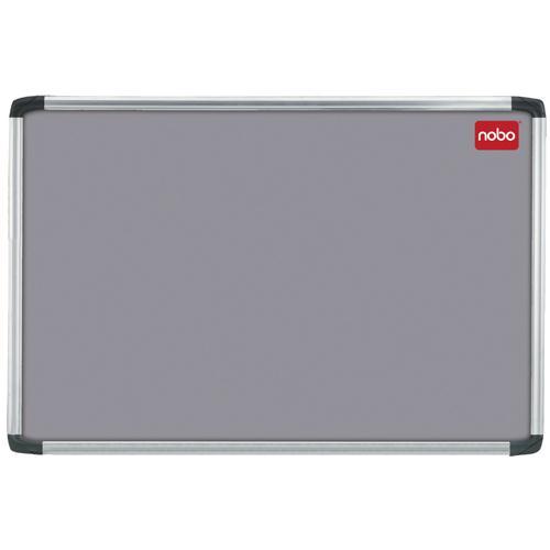 Nobo Notice Board 900x600mm Aluminium Frame Grey AF32 30230157