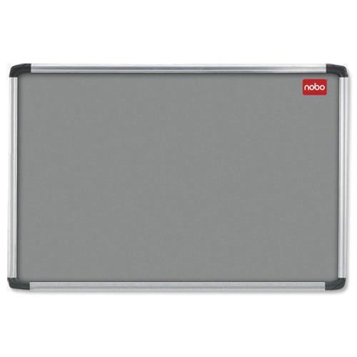 Nobo Notice Board 1200x900mm Aluminium Frame Grey AF43 30230158