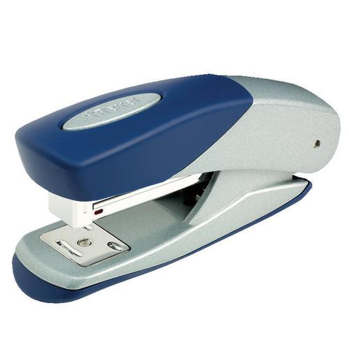 Rexel Matador Stapler Half Strip Silver/Blue 2100951