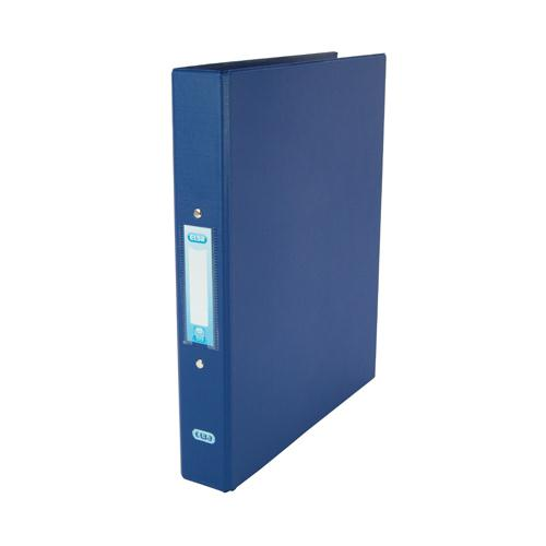 Elba A4 2-Ring Binder 25mm Blue 400001508